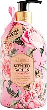 Parfüm, Parfüméria, kozmetikum Folyékony szappan - IDC Institute Scented Garden Hand Wash Country Rose