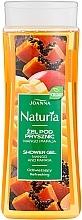 """Parfüm, Parfüméria, kozmetikum Tusfürdő """"Mangó és papaya"""" - Joanna Naturia Mango and Papaya Shower Gel"""