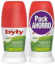 Parfüm, Parfüméria, kozmetikum Szett - Byly Organic Extra Fresh (deo/2x50ml)