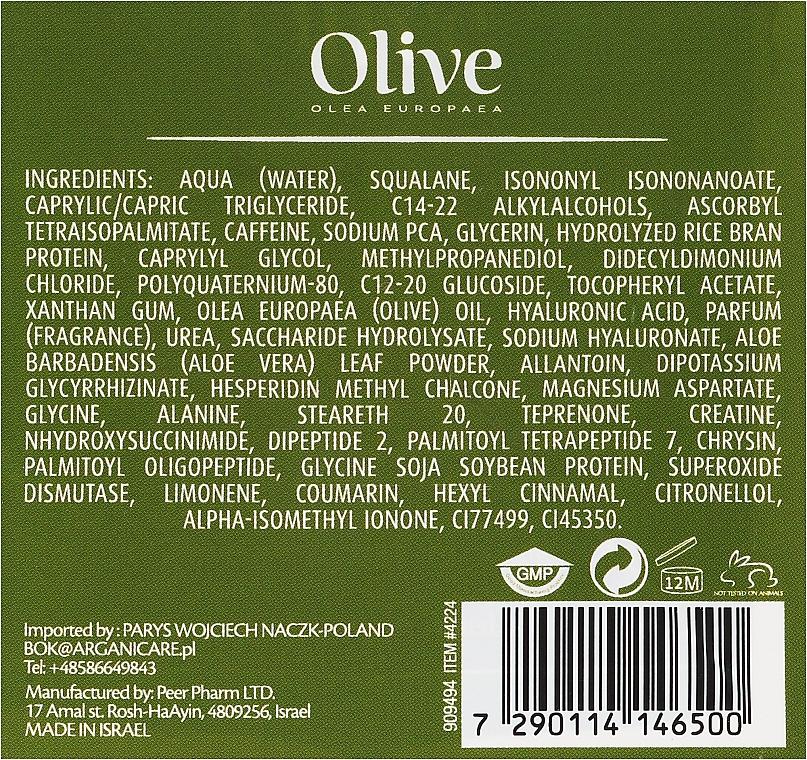 Ránctalanító krém szemkörnyékre - Frulatte Olive Anti..