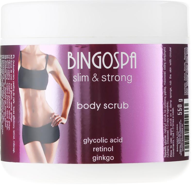 Testradír - BingoSpa Slim&Strong Body Scrub