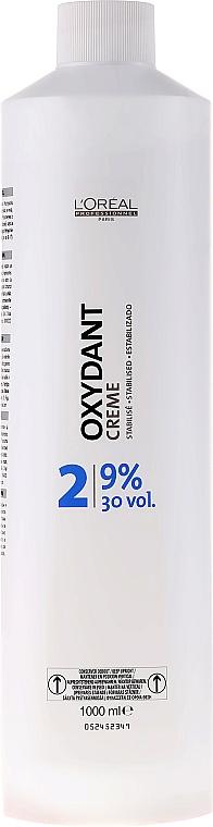 Színelőhívó emulzió - L'Oreal Professionnel Oxydant Creme 2 (9%) — fotó N1