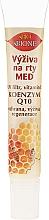 Parfüm, Parfüméria, kozmetikum Ajakápoló balzsam - Bione Cosmetics Honey + Q10 Nourishment With Vitamins E, A And D Lip