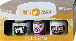 Parfüm, Parfüméria, kozmetikum Szett - Purity Vision Bio Wellness (b/peel/110g + butter/120ml + water/50ml)