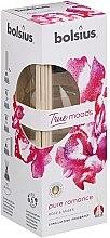 """Parfüm, Parfüméria, kozmetikum Aromadiffúzor """"Rózsa és borostyán"""" - Bolsius Fragrance Diffuser True Moods Pure Romance"""