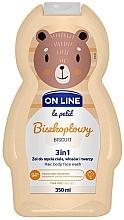 """Parfüm, Parfüméria, kozmetikum Test- és hajtisztító szer """"Biscuit"""" - On Line Le Petit Biscuit 3 In 1 Hair Body Face Wash"""