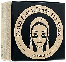 Parfüm, Parfüméria, kozmetikum Szemkontúr hidrogél maszk púderrel fekete gyöngyből - Shangpree Gold Hydrogel Eye Mask