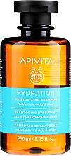 Parfüm, Parfüméria, kozmetikum Hidratáló sampon hiauloronsavval és aloe verával - Apivita Moisturizing Shampoo With Hyaluronic Acid & Aloe