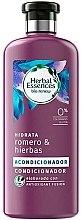 """Parfüm, Parfüméria, kozmetikum Hidratáló kondicionáló """"Rozmaring és gyógyfüvek"""" - Herbal Essences Rosemary & Herbs Conditioner"""