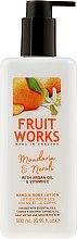 """Parfüm, Parfüméria, kozmetikum Kéz és test lotion """"Mandarin és neroli"""" - Grace Cole Fruit Works Hand & Body Lotion Mandarin & Neroli"""