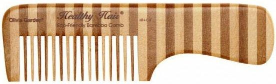 Bambusz fésű, 3 - Olivia Garden Healthy Hair Eco-Friendly Bamboo Comb 3