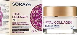 Parfüm, Parfüméria, kozmetikum Regeneráló ránctalanító nappali és éjszakai krém 70+ - Soraya Total Collagen 70+