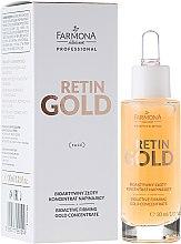 Parfüm, Parfüméria, kozmetikum Bioaktív arany koncentrátum arcra - Farmona Retin Gold Concentrate