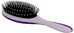 Parfüm, Parfüméria, kozmetikum Hajkefe, szürke és lila - Twish Professional Hair Brush With Magnetic Mirror Grey-Indigo