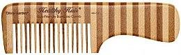 Parfüm, Parfüméria, kozmetikum Bambusz fésű, 3 - Olivia Garden Healthy Hair Eco-Friendly Bamboo Comb 3