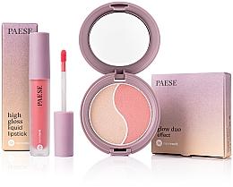 Parfüm, Parfüméria, kozmetikum Készlet - Paese (f/poud/4.5g + liquid/lipstick/4.5ml)
