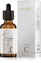 Parfüm, Parfüméria, kozmetikum Világosító arcszérum C-vitaminnal - Nanoil Face Serum Vitamin C