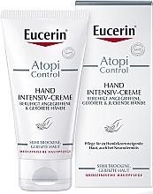 Parfüm, Parfüméria, kozmetikum Kézkrém atópiás bőrre - Eucerin AtopiControl Intensiv Hand Creme
