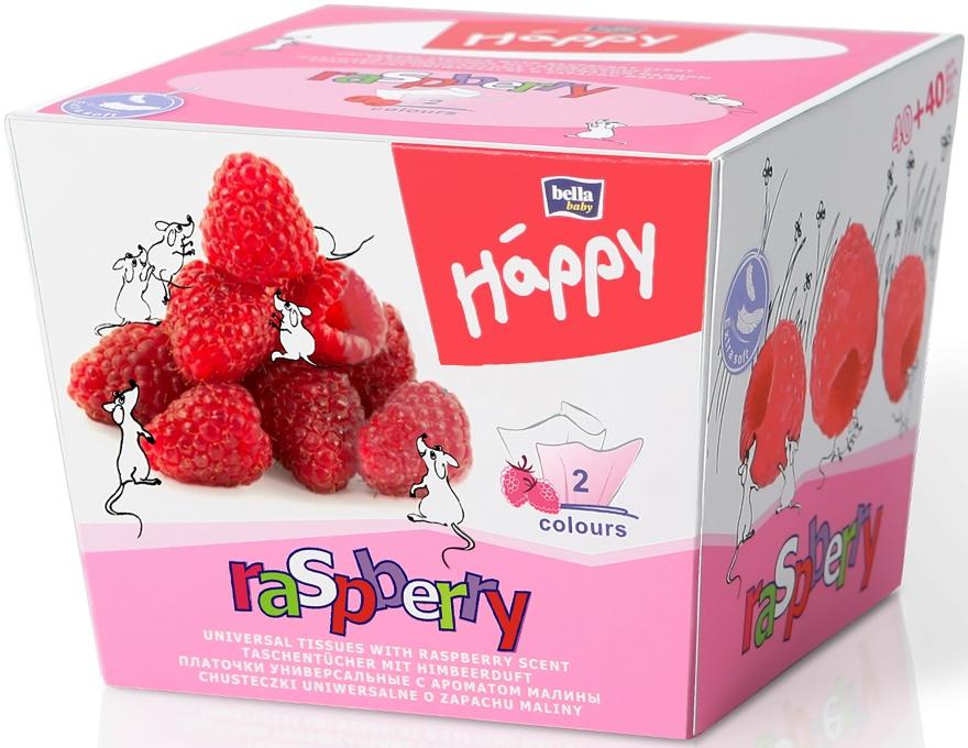 Papír zsebkendő, málna - Bella Baby Happy