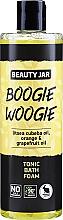 Parfüm, Parfüméria, kozmetikum Tonizáló fürdőhab kubeba olajjal, naranccsal és grépfrúttal - Beauty Jar Boogie Woogie Tonic Bath Foam