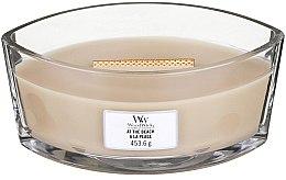 Parfüm, Parfüméria, kozmetikum Illatgyertya pohárban - WoodWick At The Beach Hearthwick Ellipse Candle
