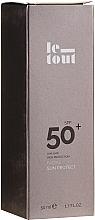 Parfüm, Parfüméria, kozmetikum Napvédő krém arcra SPF 50 - Le Tout Facial Sun Protect