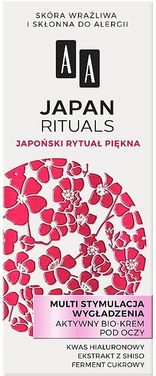 Bio szemkörnyékápoló simító hatással - AA Japan Rituals Active Bio-Cream