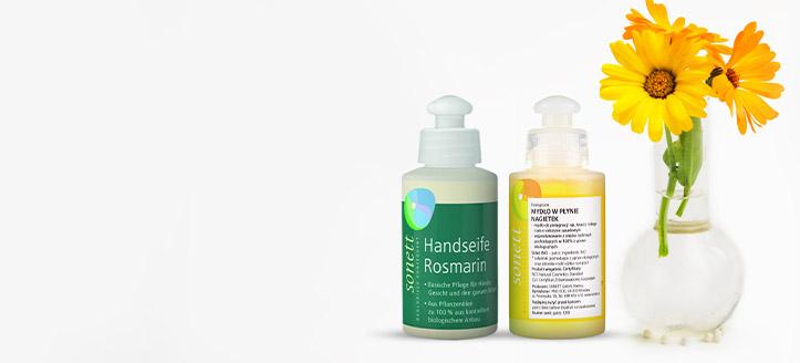 Sonett termékek 3150 Ft feletti vásárlása során kapj ajándékba választható folyékony szappant: