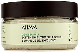 Parfüm, Parfüméria, kozmetikum Olaj-só alapú testradír Holt-tengeri sóval - Ahava Softening Butter Salt Scrub