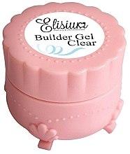 Parfüm, Parfüméria, kozmetikum Körömépítő zselé - Elisium Builder Gel Clear