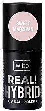 Parfüm, Parfüméria, kozmetikum Hibrid körömlakk - Wibo Hybrid Real Hybrid UV Nail Polish