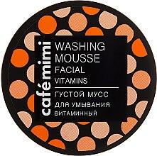 "Parfüm, Parfüméria, kozmetikum Sűrű arctisztító hab ""Vitaminizált"" - Cafe Mimi Washing Mousse Facial Vitaminc"