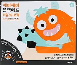 Parfüm, Parfüméria, kozmetikum Tapasz miteszer ellen - A'pieu Goblin Blackhead Real Big Nose Strip