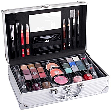 Parfüm, Parfüméria, kozmetikum Beauty-készlet - Cosmetic 2K Fabulous Beauty Train Case Complete Makeup Palette