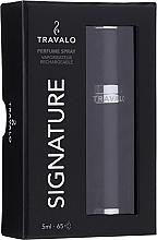 Parfüm, Parfüméria, kozmetikum Porlasztó - Travalo Signature Elegance Black