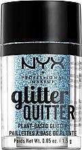 Parfüm, Parfüméria, kozmetikum Arc és test glitter - NYX Professional Makeup Glitter Quitter Plant-Based Glitter