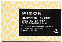 Parfüm, Parfüméria, kozmetikum Hidratáló és tápláló expressz maszk méz kivonattal - Mizon Enjoy Fresh On-Time Mask Honey Mask