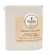 """Parfüm, Parfüméria, kozmetikum Masszázsgyertya """"Tápláló kókusz"""" - Flagolie Coconut Nutrition Massage Candle"""