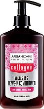 Parfüm, Parfüméria, kozmetikum Öblítést nem igénylő kondicionáló hullámos hajra - Arganicare Collagen Nourishing Leave-In Conditioner