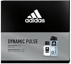 Parfüm, Parfüméria, kozmetikum Adidas Dynamic Pulse - Szett (edt/50ml + sh/gel/250ml)