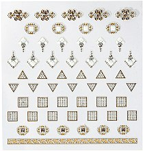 Parfüm, Parfüméria, kozmetikum Körömdíszítő matrica - Peggy Sage DecorativeNail Stickers Jewels (1 db)