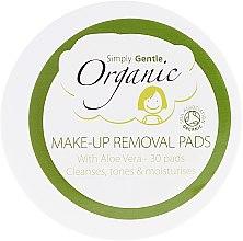 Parfüm, Parfüméria, kozmetikum Artisztító kendők - Simply Gentle Organic Fairtrade Cotton Facial Cleansing Pads
