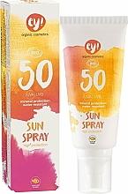 Parfüm, Parfüméria, kozmetikum Napvédő spray ásványi szűrővel SPF50 - Eco Cosmetics ey!