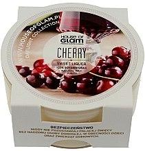 Parfüm, Parfüméria, kozmetikum Illatosított gyertya - House of Glam Sweet Cherry Liquer Candle (mini)
