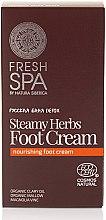 Parfüm, Parfüméria, kozmetikum Lábkrém - Natura Siberica Fresh Spa Russkaja Bania Detox Steamy Herbs Foot Cream