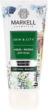 """Parfüm, Parfüméria, kozmetikum Aqua arcmaszk """"Reszkető hógomba"""" - Markell Cosmetics Skin&City Face Mask"""