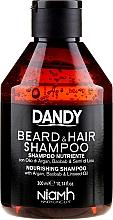 Parfüm, Parfüméria, kozmetikum Haj és szakáll sampon - Niamh Hairconcept Dandy Beard & Hair Shampoo