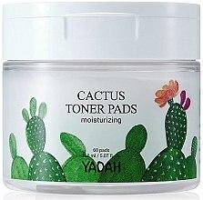 Parfüm, Parfüméria, kozmetikum Hidratáló kendő arcra kaktusszal - Yadah Cactus Moisturizing Toner Pads