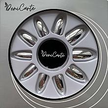 Parfüm, Parfüméria, kozmetikum Tükörfényű műköröm tip, 42411, ezüst - Deni Carte