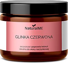 """Parfüm, Parfüméria, kozmetikum Természetes agyag """"Piros"""" - NaturalME"""